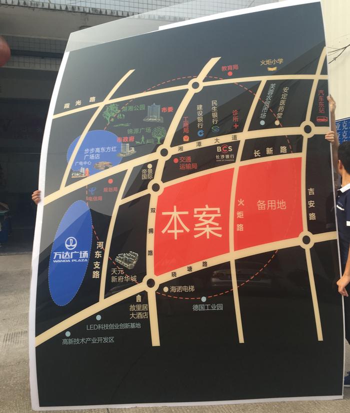 房地产楼盘区域图